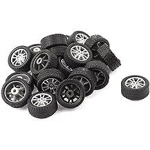 Sourcingmap–RC Smart Cars Truck Parts 18mm plástico Hub Drift rueda 20pcs