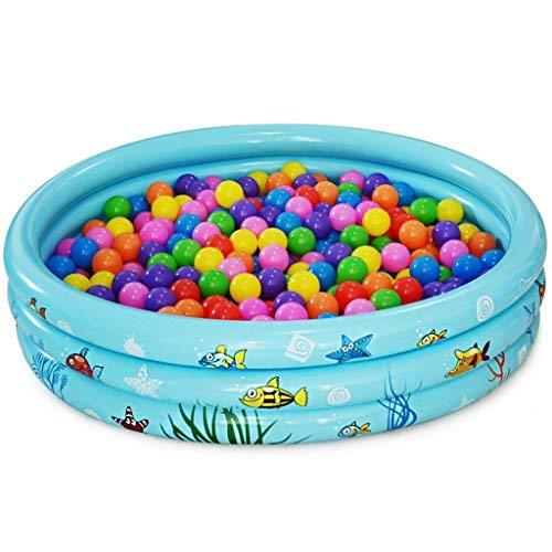 BAIF Práctica bañera portátil Infantil para Adultos, bañera Hinchable Redonda, Piscina Hinchable y Piscina de Juguete para niños Bañera Inflable y baño de inmersión Inflable (Color: Azul)