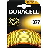 piles de montre d'oxyde d'argent Duracell bouton de cellules (SR626 / 377 / SR66)