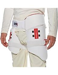 GRAY NICOLLS All-In-One Protector de Muslo para Cricket, Junior - Derecho