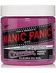 manic panic gamme creamtones perfect pastel coloration semi permanente fleurs du mal rose - Coloration Rose Permanente