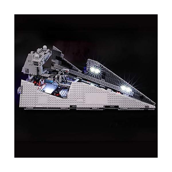 BRIKSMAX Kit di Illuminazione a LED per Lego Star Wars Imperial Star Destroyer, Compatibile con Il Modello Lego 75055… 2 spesavip