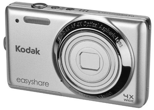 Kodak EasyShare M522 Digitalkamera (14 Megapixel, 4-fach opt. Weitwinkelzoom, 6,8 cm (2,7 Zoll) Display) silber
