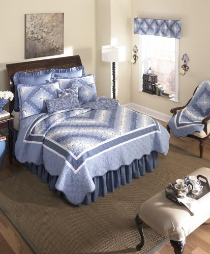 donna-sharp-precious-postage-stamp-quilted-valance-runner-blue-white