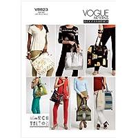 Vogue Patterns V8823 - Patrones de costura para bolsos (talla única)