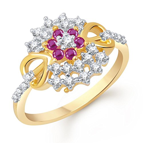VK-Jewels-AD-and-Ruby-Studded-Heart-Gold-and-Rhodium-Plated-Ring-FR1271G-VKFR1271G