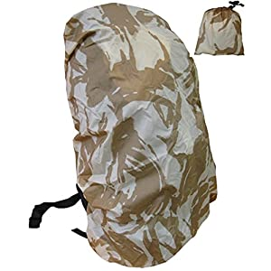 51v4iBMCJwL. SS300  - Rucksack Rain Army Camo Waterproof Bag Military Cover Backpack Desert Sand Combat Camo (Large ( 55 - 75 Litres ))