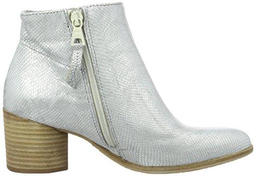 Mjus Damen 882201-0201 Kurzschaft Stiefel Silber (Argento)