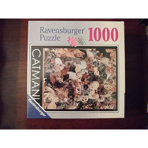 CAT MANIA RAVENSBURGER 1000 PUZZLE by Brain-Storm Ltd. Ravensburger