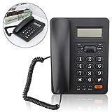 Mavis Laven Schnurgebundenes Telefon, Anrufer-ID-Anzeigeschalter Festnetztelefon mit Anrufaufzeichnung/Wahlwiederholung für das Home Office Hotel