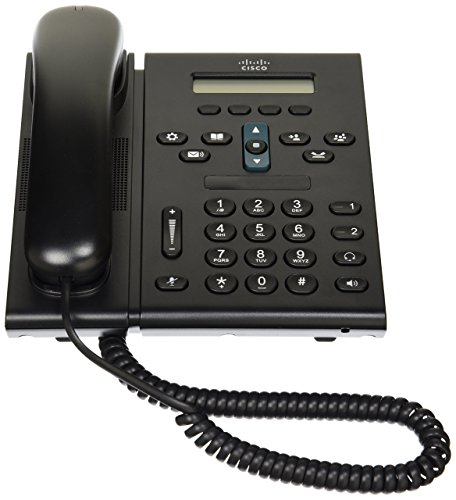 Cisco IP 6921 2 Piece Phone (Hands Free Functionality, System Phone, IP Phone) (Certified Refurbished)