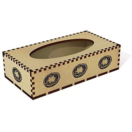 Azeeda Lange 'Mince Pie' Tissue Box Cover aus Holz (TB00012044) (Pie Box Holz)