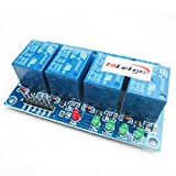 HiLetgo 4 Channel 24V Relay Module Expansion Board High Level Trigger