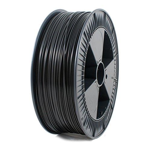 ICE FILAMENTS ICEFIL3PLA121 PLA Filament, 2,85 mm, 2,30 kg, Brave Black