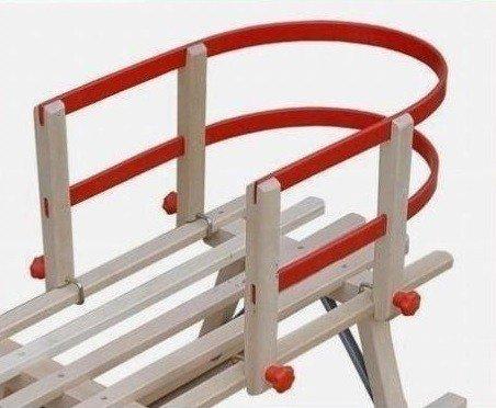 Erst-Holz 2401 Lehne Rückenlehne Zubehör für Klappschlitten