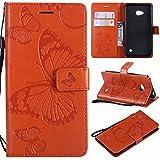 Laybomo Microsoft Lumia 640 LTE Etui Housse PU Cuir Pochette Portefeuille Aimant...