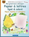 Telecharger Livres BROCKHAUSEN Livre du bricolage vol 4 Mon grand livre a decouper Papier a lettres ligne colore Paques Papillons et coleopteres (PDF,EPUB,MOBI) gratuits en Francaise