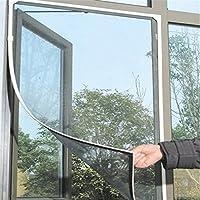 Mosquitera magnética para ventana mosquitera con velcro para protección de insectos cortina de ventana 150 x 130 cm