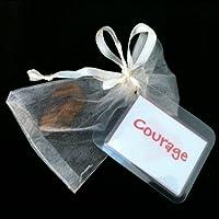 Tiger Eye Talisman Gift Bag for Courage