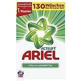 Ariel Pulver Vollwaschmittel, 8,45 kg, 1er Pack (1 x 130 Waschladungen)