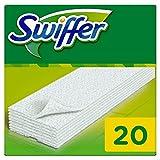 Swiffer - Recharges Lingettes Sèches pour Balai Attrape-Poussière - 4x20 (x80 lingettes)
