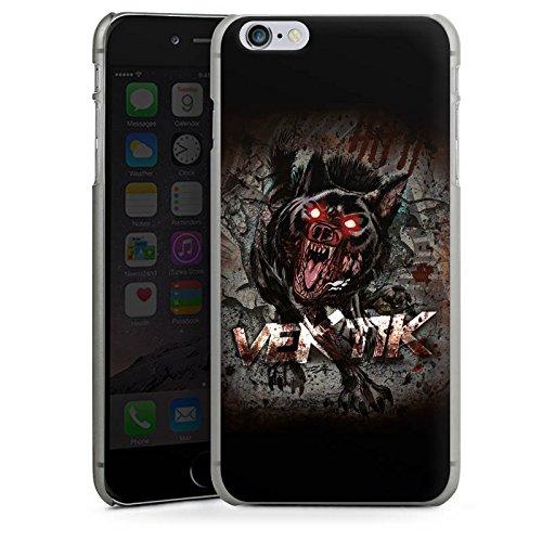 Apple iPhone X Silikon Hülle Case Schutzhülle Vektik Fanartikel Merchandise Hellhound Hard Case anthrazit-klar