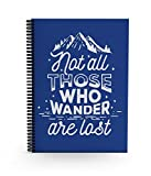 #9: Alter Ego Not All Who Wander Are Lost - Daily Planner Notebook