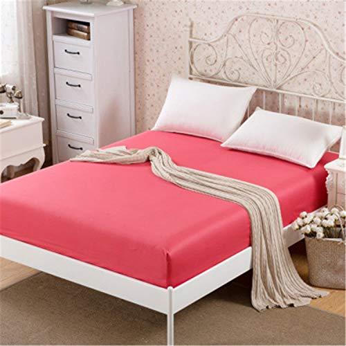 kung Anti-Rutsch-Stretch Weiche blätter Bett matratze Bettrock Matratzeschoner,Verdicken Sie Schutzhülle Bettdecke 7 2,0 * 2,2 + 25 cm ()