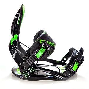 Raven Snowboard Bindung s220 Green