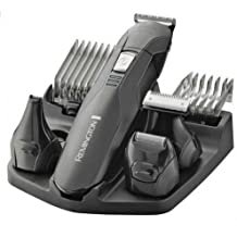 Remington PG6030 Edge - Kit multifunción inalámbrico, seis cabezales, cuchillas de acero