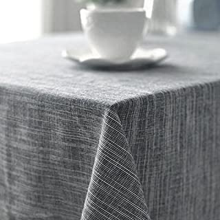 AIHOME™ Cotton & Linen Tablecloth Japanese Art Simple Style Solid Plain Color Dining Table Cloth for Home Hotel Cafe Restaurant - Size M/Medium