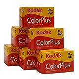 Kodak Color Plus - 35mm film, 6 rolls, 24 exposure/roll, ISO 200