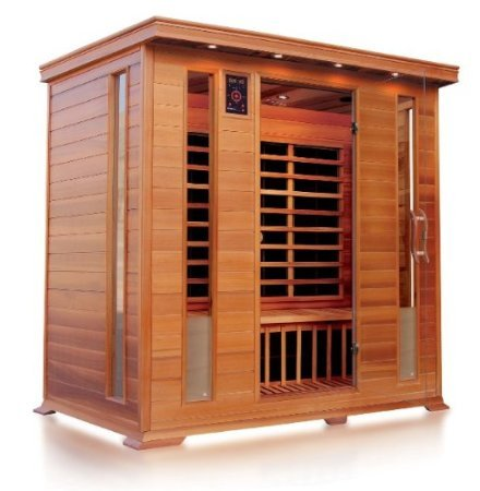 Outdoor-infrarot-sauna (VB Italia–Infrarot Sauna und Karbonfaser Panels für 4–5Personen)