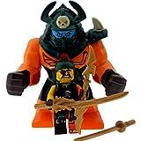 LEGO Ninjago Minifiguren Dogshank und Sqiffy mit drei GALAXYARMS Schwertern