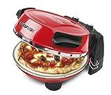 G3 Ferrari G10032 1pizza(s) 1200W Black,Red pizza maker/oven - Pizza Makers & Ovens (1 pizza(s), 31 cm, 390 °C, Black, Red, Stone, 1200 W)