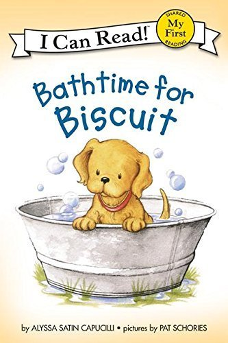Bathtime for Biscuit (My First I Can Read) by Alyssa Satin Capucilli (1999-08-04)