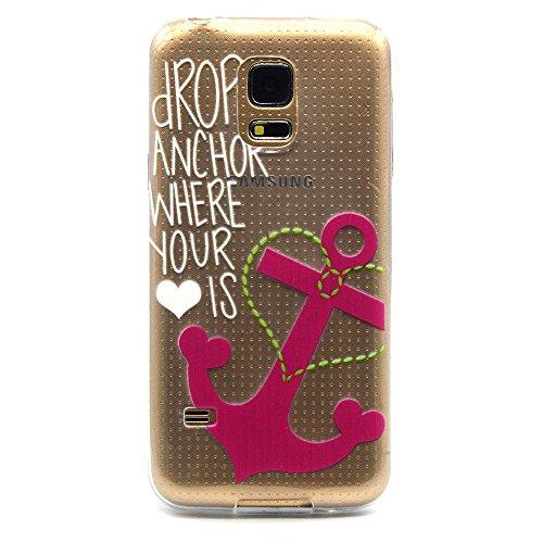 iPhone 6S Hülle, iPhone 6 Hülle, SainCat iPhone 6S / 6 Silikon Hülle Tasche Handyhülle [Kratzfeste, Scratch-Resistant] TPU Gel Case Weiches Schutzhülle Silikon Crystal Kirstall Clear Case Durchsichtig Rosa Anker
