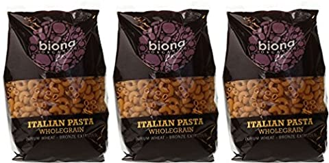 (3 PACK) - Biona - Org Wholewheat Macaroni | 500g | 3 PACK BUNDLE