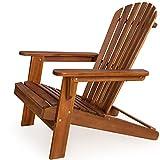 Sonnenstuhl Adirondack aus Akazienholz Liegestuhl Holzstuhl Deckchair Modellauswahl
