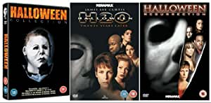 The Complete Halloween 1 - 7 DVD Collection: Halloween / Halloween 2 / Halloween 3: Season of the Witch / Halloween 4:The Return Of Michael Myers / Halloween 5:The Revenge Of Michael Myers / Halloween H20 / Halloween: Resurrection