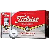 Titleist 2014 DT Solo Golf Balls (1 x Dozen Box) White NEW