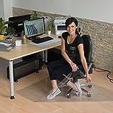 LYSEL® Bürostuhlunterlage, (BxL) 140x170cm in transparent (1 Stück)