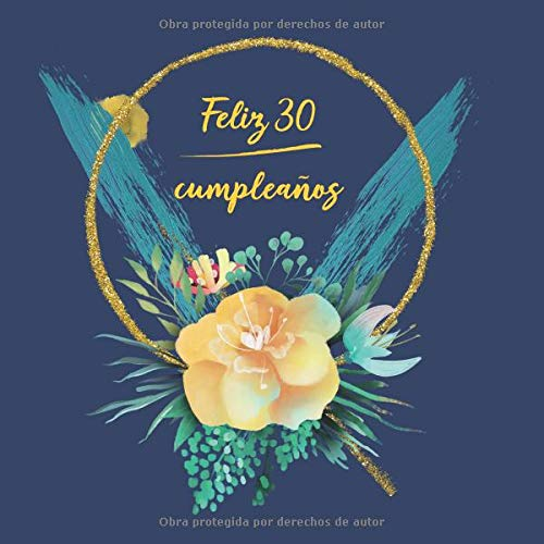 : Libro De Visitas para Fiesta -  aniversario cumpleaños   el libro de firmas evento   Feliz Cumple años -  Idea de regalo ()