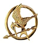 Broche de mockingjay de Katniss, de Los juegos del hambre, chapado en...