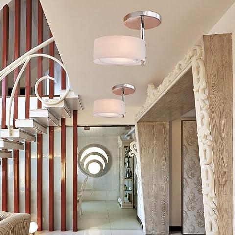 ALFRED® Lustre Moderne Acrylique(Fini Chromé),Flush Mount, plafond lumières, l'étude chambre / bureau, chambre, Salon