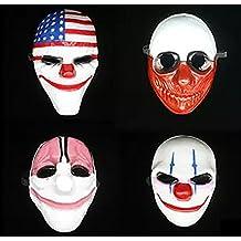 4pc Halloween cosplay masquerade mask theme special party decor