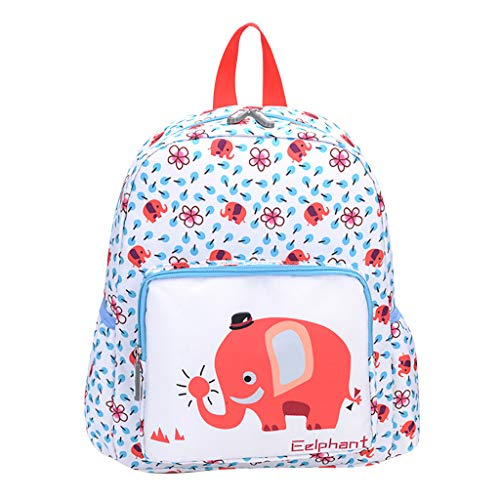 Ledertasche, Schultertasche, Geschenk, Handgefertigte Tasche,Student Kinder Mädchen & Jungen Cartoon Tier Schultasche Familienreise Rucksack Tasche ()