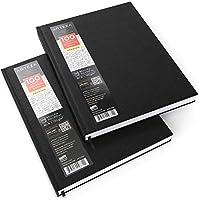 Cuadernos de tapa dura con papel de dibujo Arteza - Pack de 2 blocs de dibujo