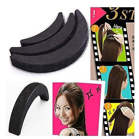 NALATI 3 Taille Peigne Pince à cravate Cele-up bricolage cheveux Beauté outil Bumpits Plait utiles Outils tresser cheveux