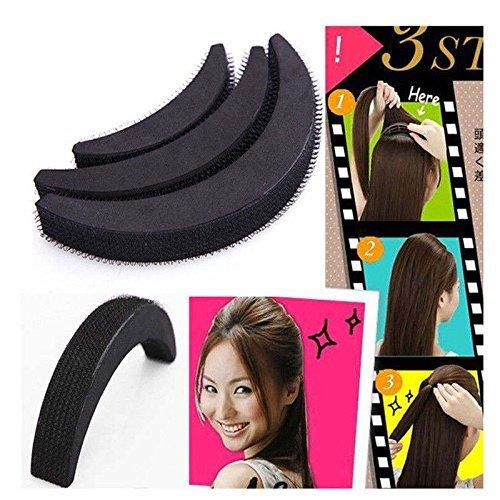 Book's Cover of NALATI 3 Taille Peigne Pince à cravate Celeup bricolage cheveux Beauté outil Bumpits Plait utiles Outils tresser cheveux